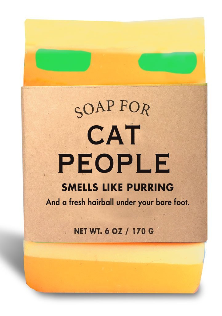Whiskey River Soap Co. - Soap for Cat People, 6 oz, Warm Milk Scented
