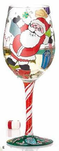 Lolita Wine Glass Claus for Celebration