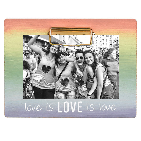 Grassland Road Love Is Love Clip Frame