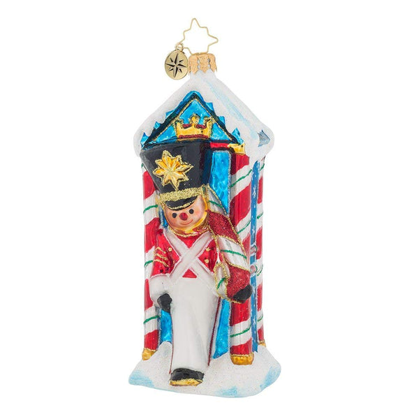 Christopher Radko Candyland Outpost Nutcracker Christmas Ornament
