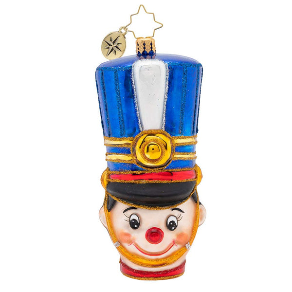 Christopher Radko Attention, Toy Soldier Christmas Ornament