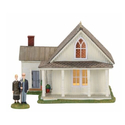 Department 56 - American Gothic, Set of 2