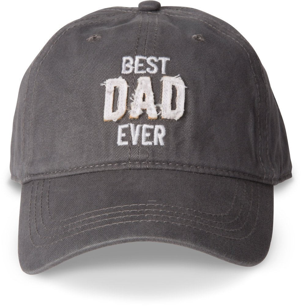 Pavilion Gift Company Gray Best Dad Ever Adjustable Snap Back Baseball Hat