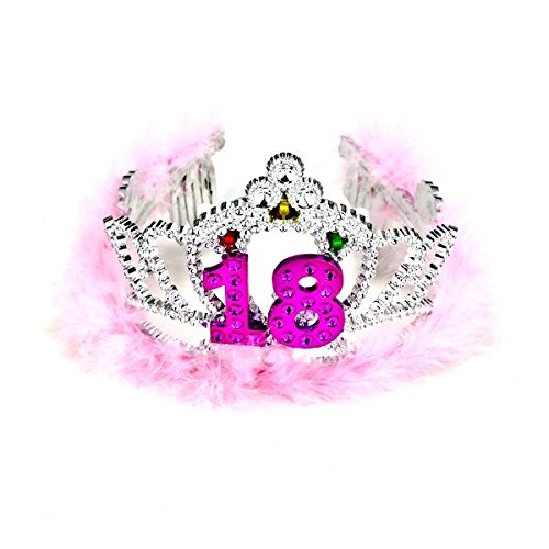 Forum Novelties Flashing Birthday Tiara #18 Novelty Item