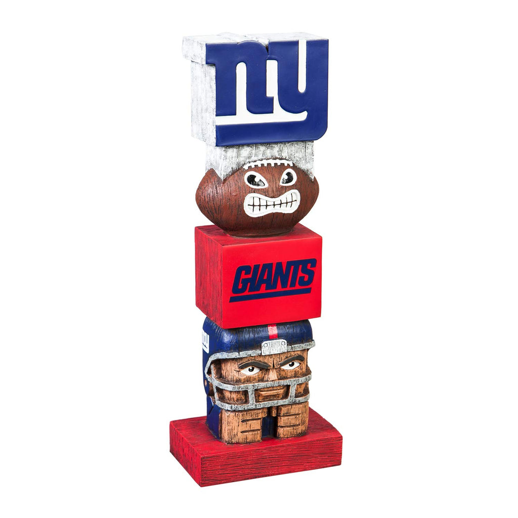 Evergreen Team Sports America NFL Tiki Totem, NY Giants