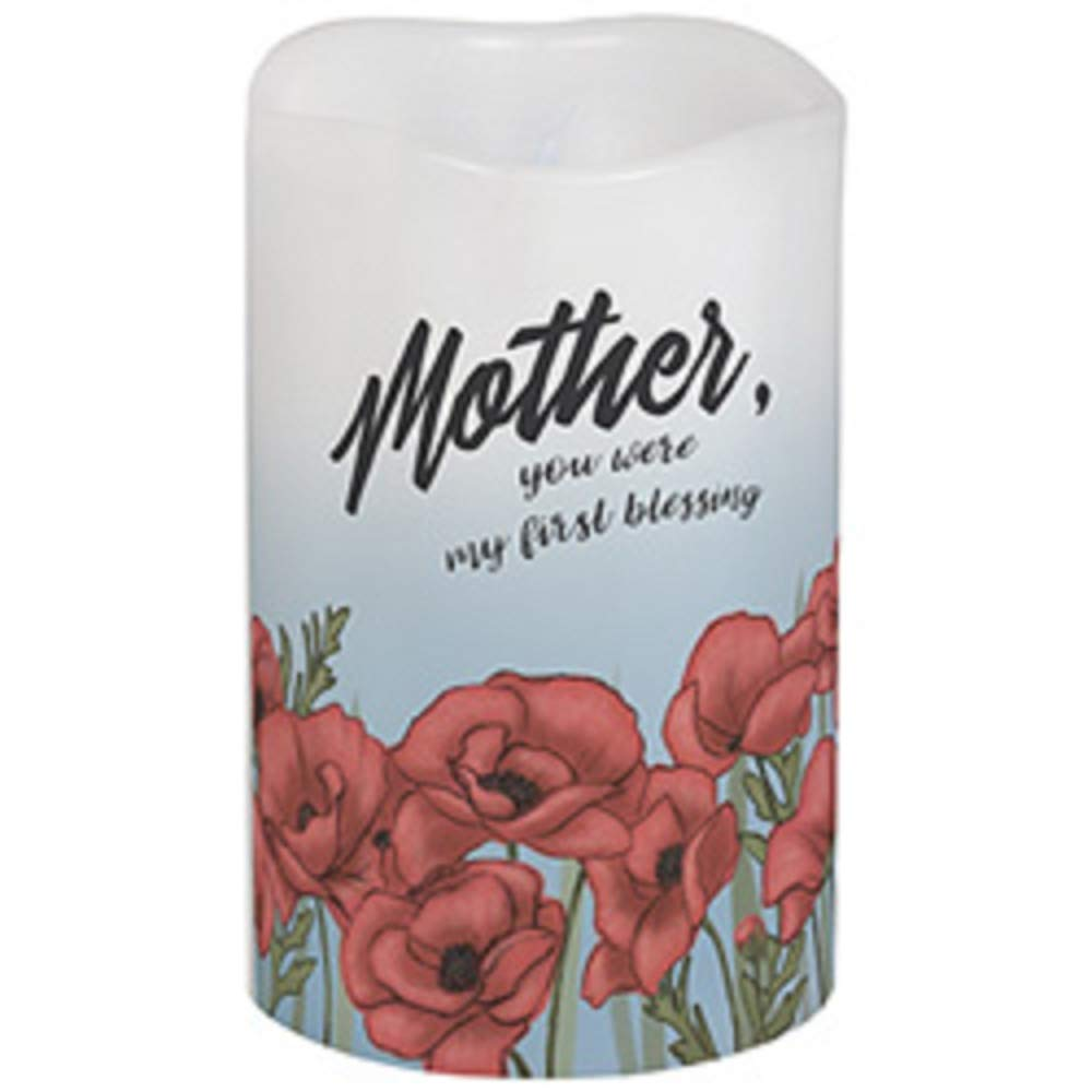 Carson Mother, You Were My First Blessing Flicker Candle