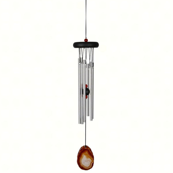 Woodstock Chimes Agate Chimer Brown, 18""