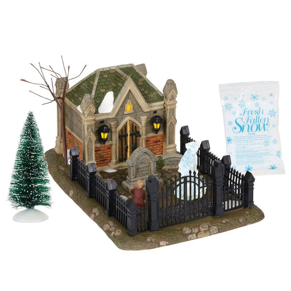 Department 56 Dickens Village A Christmas Carol Cemetery