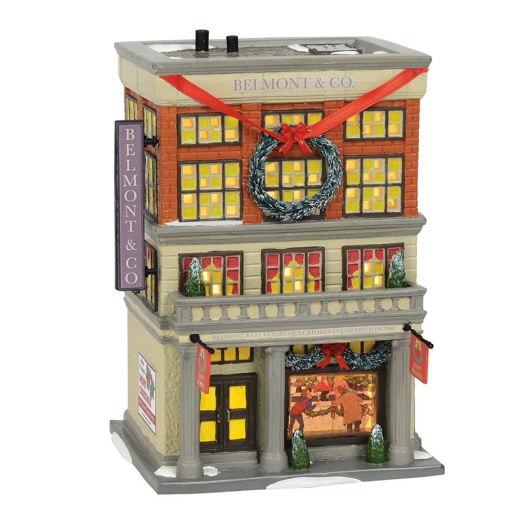 department 56 snow village national lampoons christmas vacation the department store
