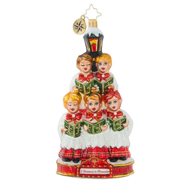 Christopher Radko Caroling Quintet Christmas Ornament