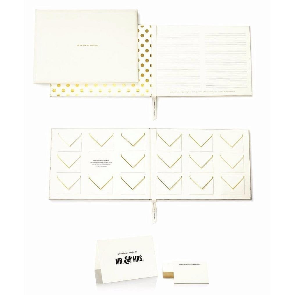 Kate Spade Mr and Mrs Guest Book