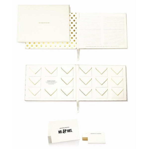 Mr and Mrs Guest Book by kate spade new york® -