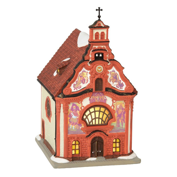 Department 56 Alpine Village Holy Ghost Church