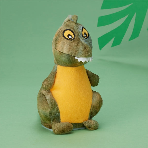 Cupcakes and Cartwheels Speak-Repeat Plush Dinosaur in Gift Box