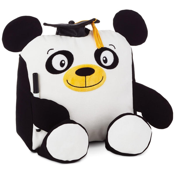 Hallmark Graduation Autograph Panda Stuffed Animal, 9""