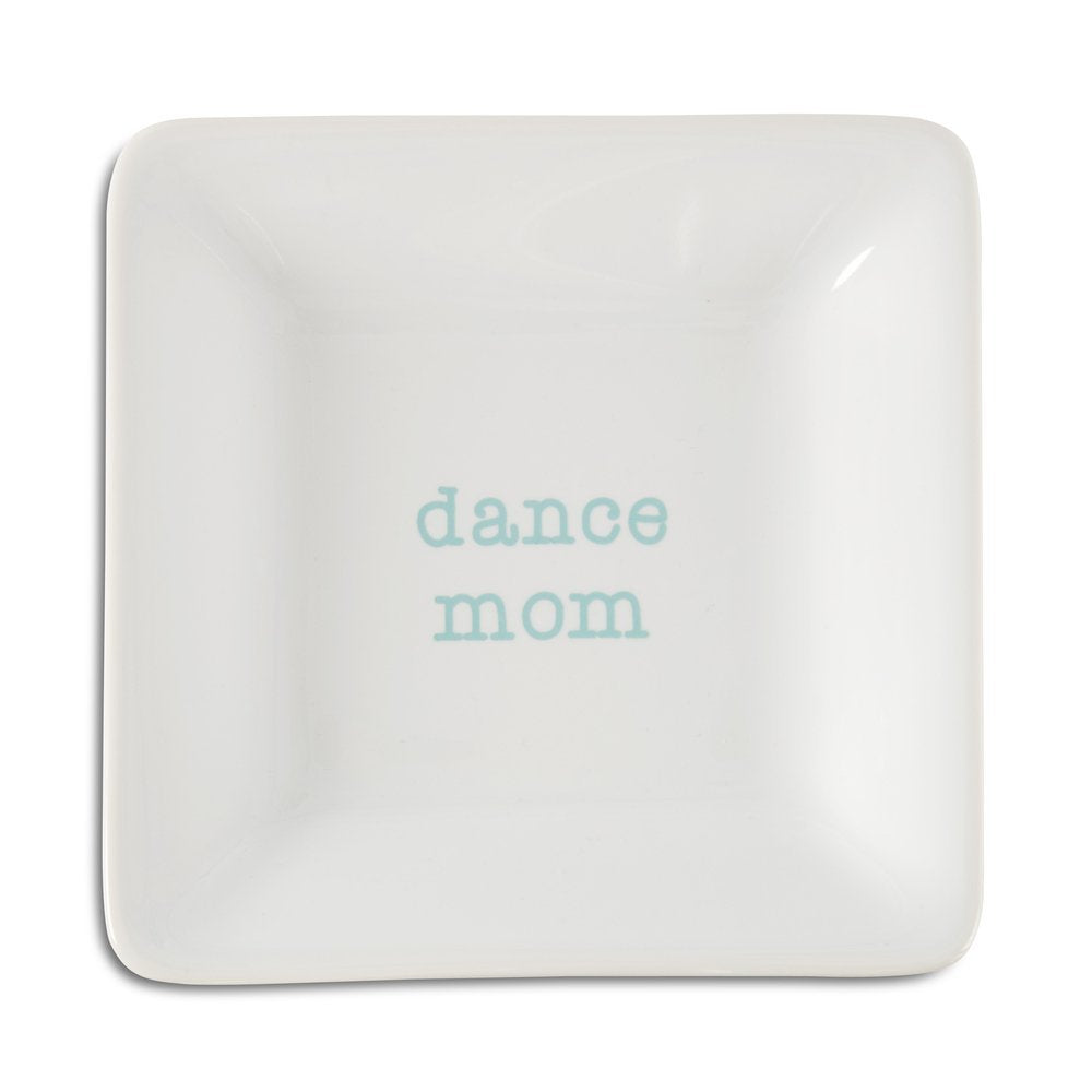 Pavilion Gift Company Dance Mom Ceramic Keepsake Dish, 4-1/2""