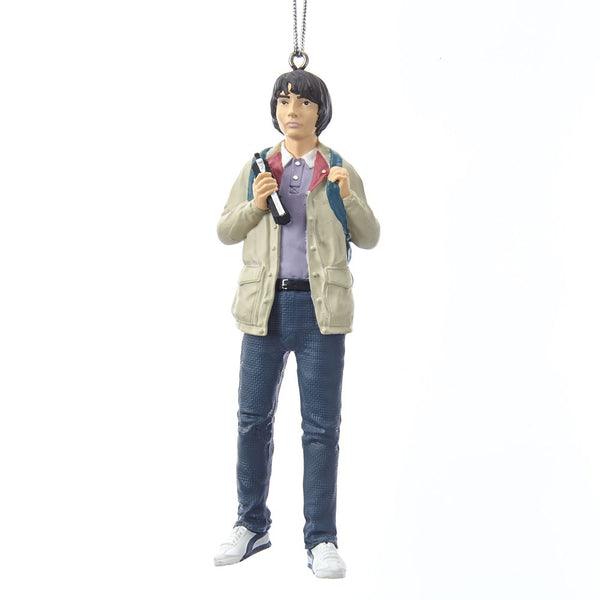 Kurt Adler Stranger Things Mike Ornament, 4.5 Inches