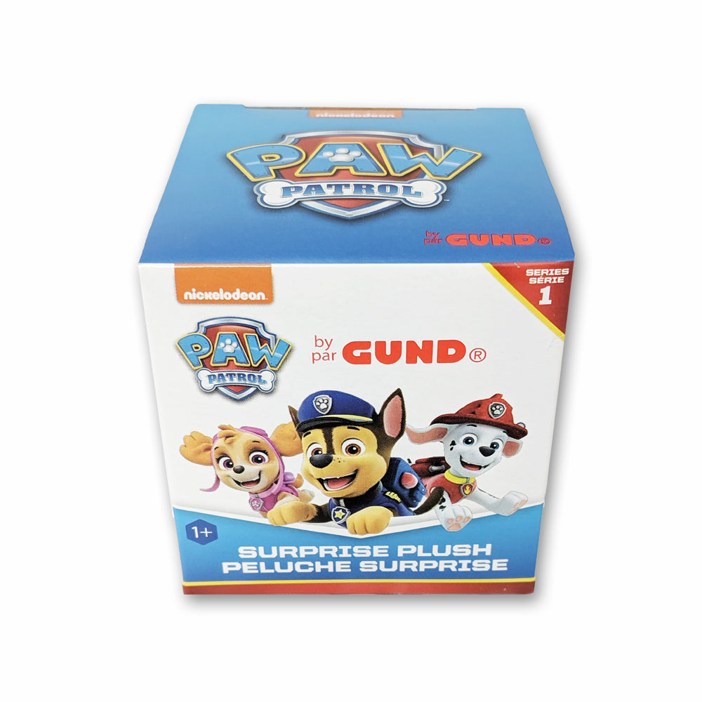 GUND Paw Patrol Blind Box Series 1 Plush, One Random Box