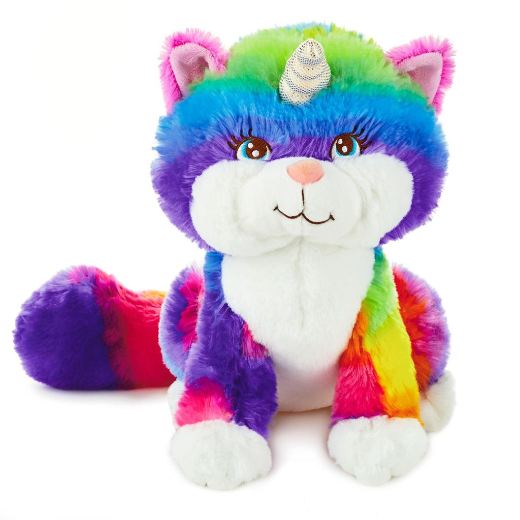 HMK Hallmark Oddly Cute Perfectly You Caticorn Plush