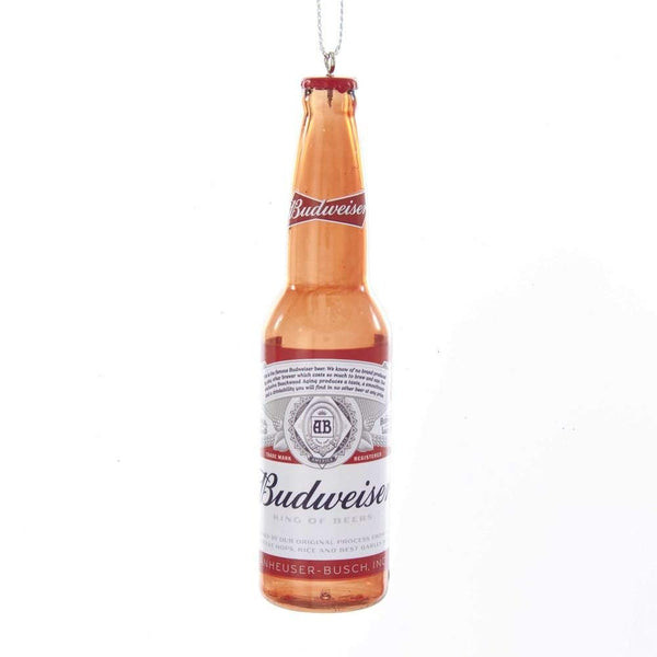 Kurt Adler Budweiser Beer Bottle Ornament