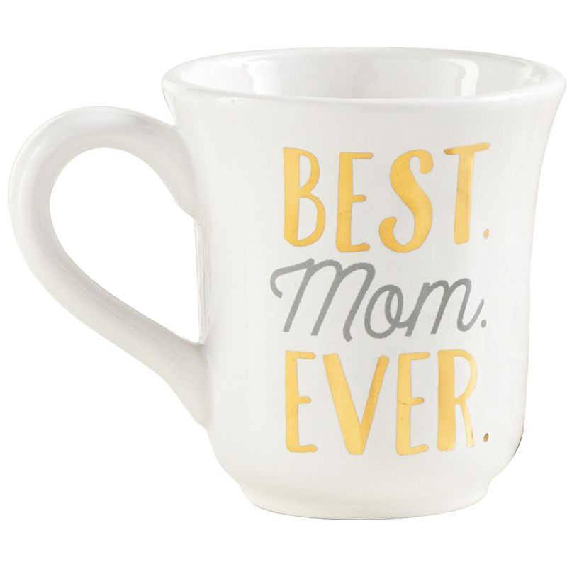 Mud Pie Best Mom Ever Mug, 16 oz.