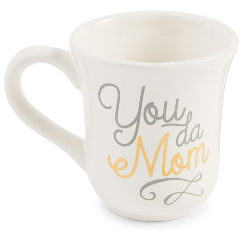 Mud Pie You da Mom Mug, 16 oz.