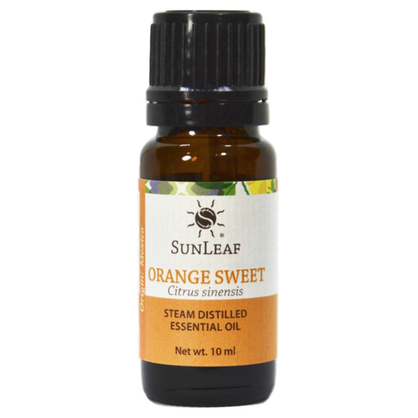 SunLeaf Naturals Essential Oil Single-Notes, Orange Sweet, 10ml