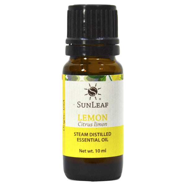 SunLeaf Naturals Essential Oil Single-Notes, Lemon, 10ml