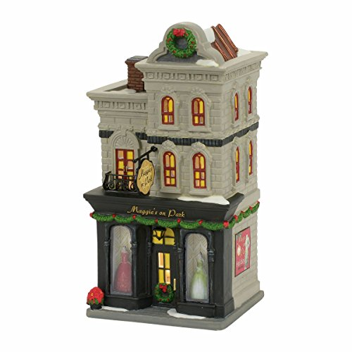 Department 56, MAGGIE'S ON PARK