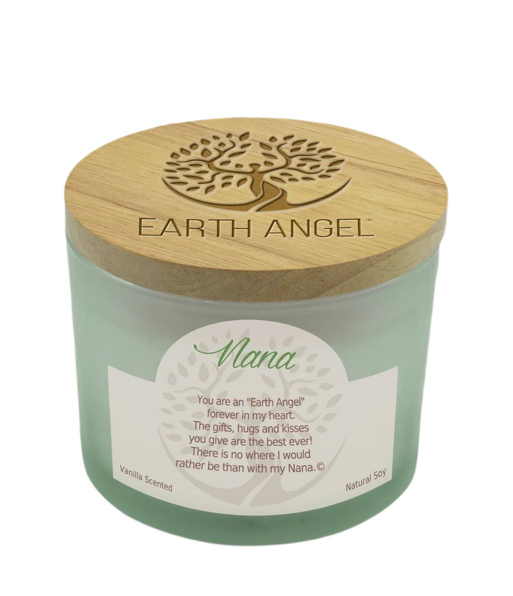 Earth Angel Natural Soy Candle 12 Ounce Nana