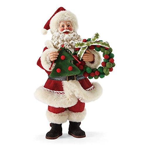 "Department 56 Possible Dreams Santa Claus ""Super Fine Holiday"" Figurine"