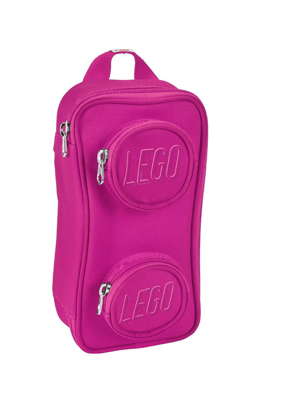 LEGO Kids' Brick Pouch, One Size, Pink