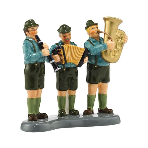 Department 56 Original Snow Village Black Forest Oompah Band Accessory, 3.43""