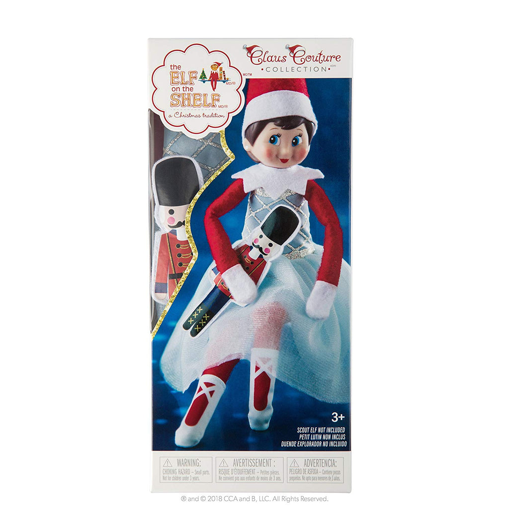 The Elf on the Shelf Claus Couture Collection Snowy Sugar-plum Duo