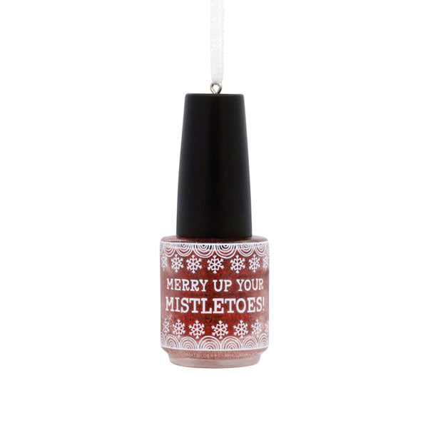 Hallmark Nail Polish Ornament