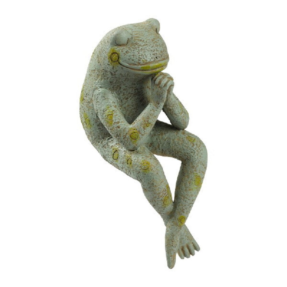 Grasslands Road Praying Frog Shelf Sitter