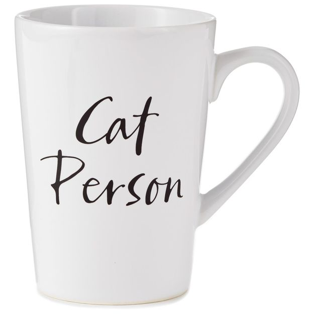 Hallmark  Hallmark Cat Person Mug, 15 oz.