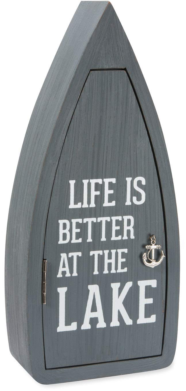 Pavilion - Life is Better at The Lake - 11.75 Inch Hanging Key Box