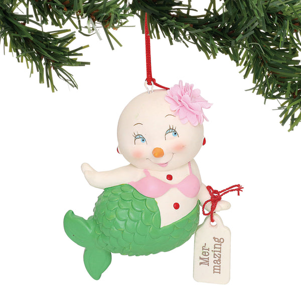 Department 56  Department 56 Snowpinions Mer-Mazing Hanging Ornament, 3.25""