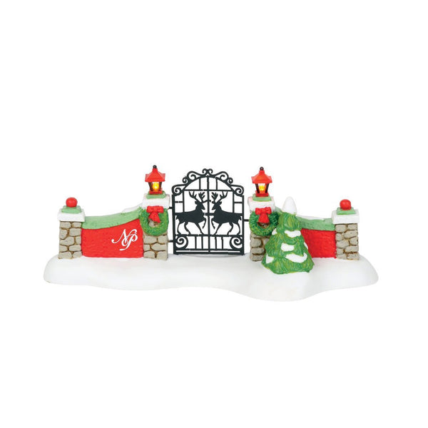 Department 56 Series North Pole Gate