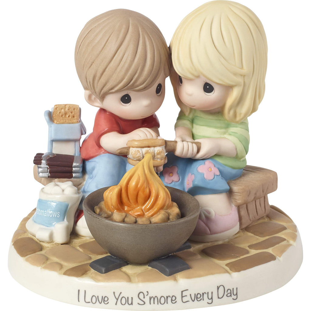Precious Moments Love You Smore Every Day Bisque Porcelain Figurine