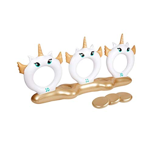 SunnyLIFE Inflatable Flyer Game Unicorn