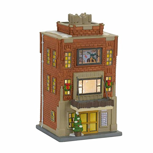 Department 56 Christmas Village Elf the Movie Buddy Buddy's Apartment