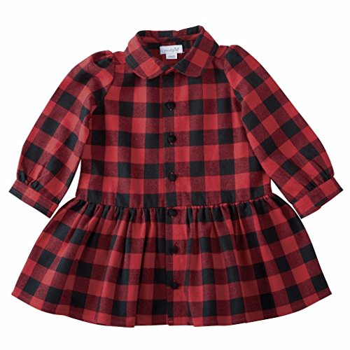 Mud Pie Kids Buffalo Check Dress