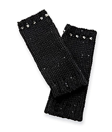 Mud Pie Fashion Andie Sequin Mitts Women's Sequin Knit Handwarmers CHOOSE ONE COLOR