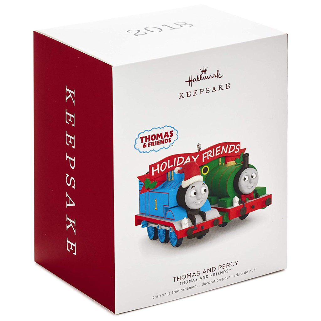 Hallmark Keepsake 2018 Thomas and Friends™ Thomas and Percy Ornament