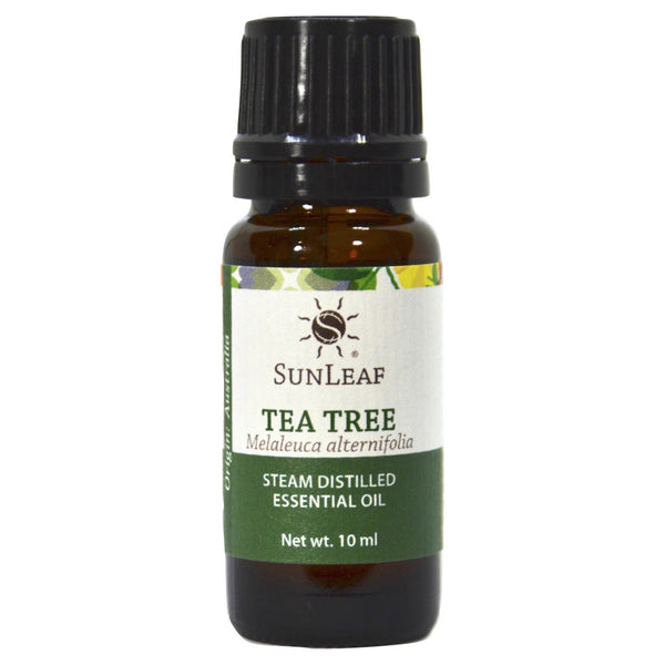 SunLeaf Naturals Essential Oil Single-Notes, Tea Tree, 10ml