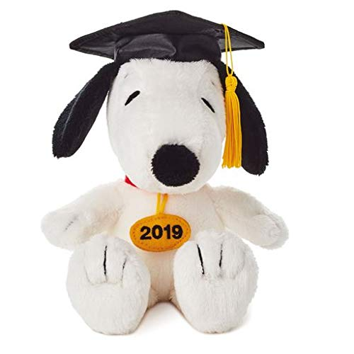 Hallmark Snoopy 2019 Graduation Stuffed Animal Gift Card Holder