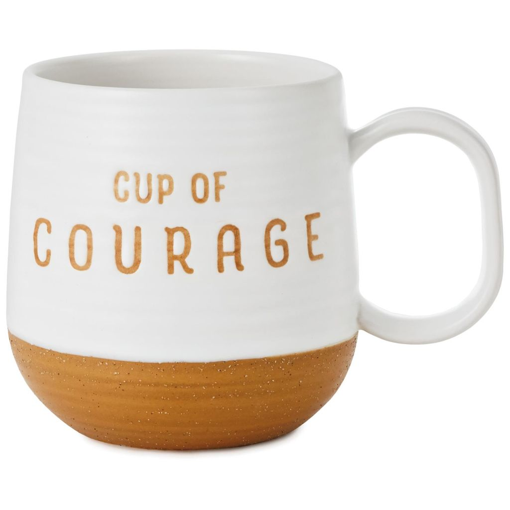 Hallmark  Hallmark Cup of Courage Stoneware Mug, 16 oz.