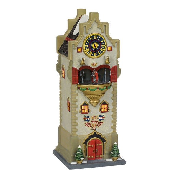 Department 56 Alpine Village Rhineland Glockenspiel Lighted Building
